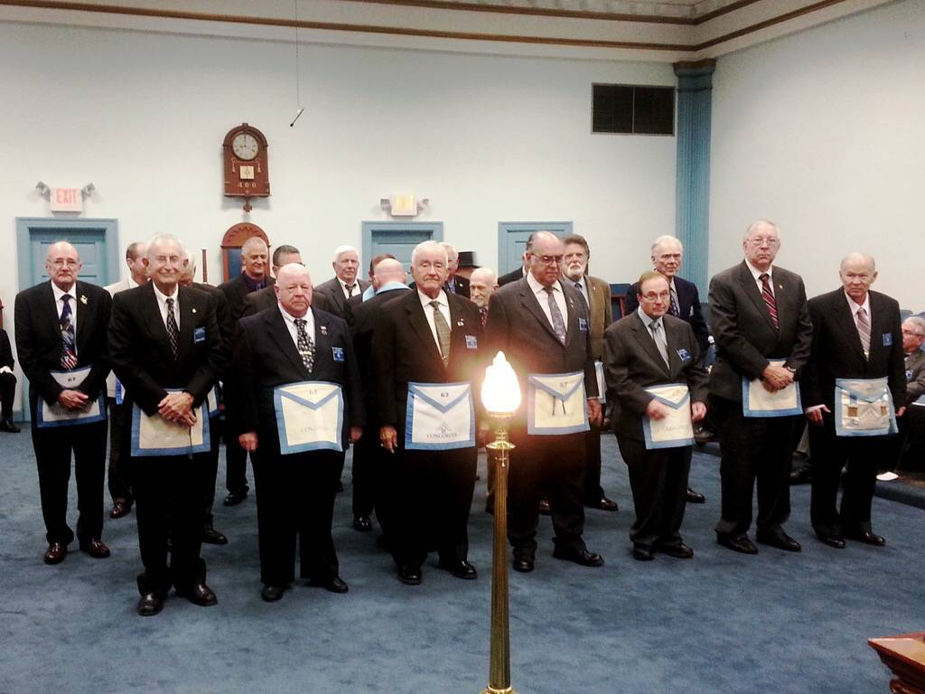 Concordia Lodge No. 67 Veterans - November 2015